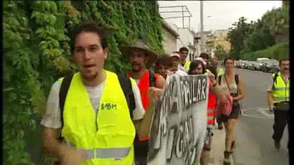 """""""Marchas indignadas"""" hacia Madrid"""