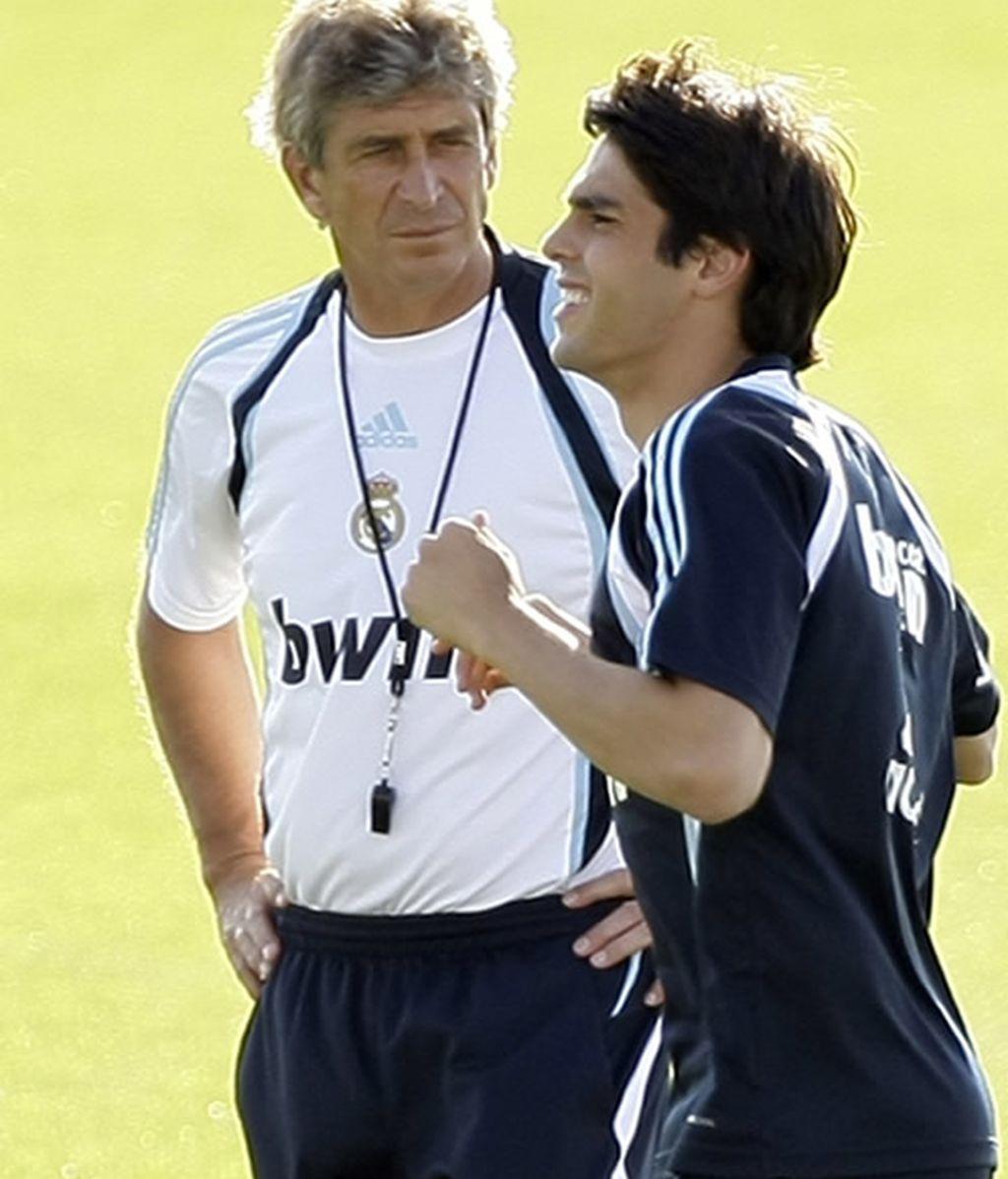 Pellegrini y Kaká
