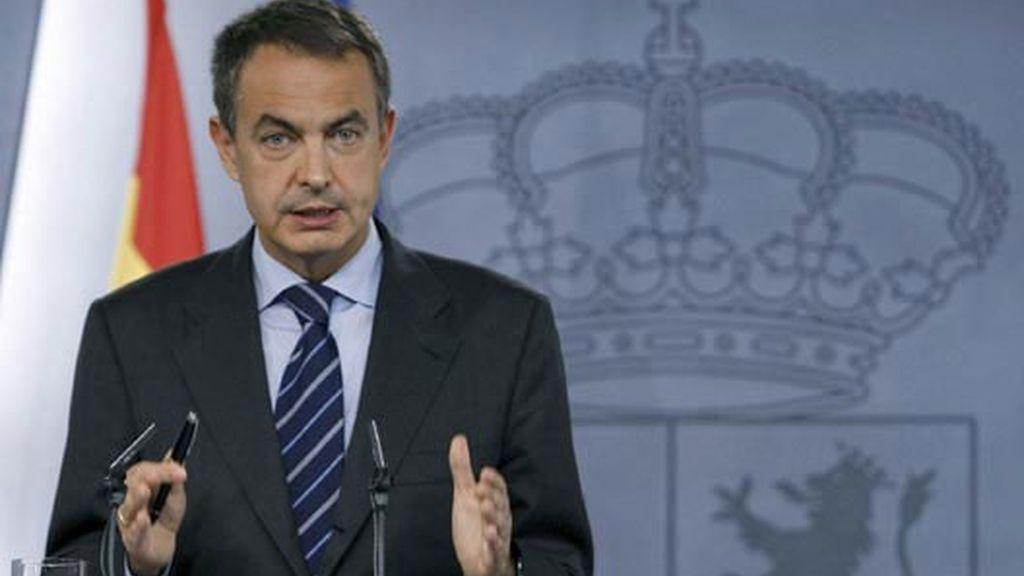 Imagen de archivo del presidente del Gobierno, José Luis Rodríguez Zapatero