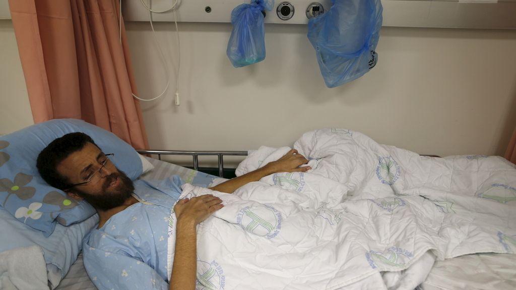 El periodista palestino en huelga de hambre, Al Qiq