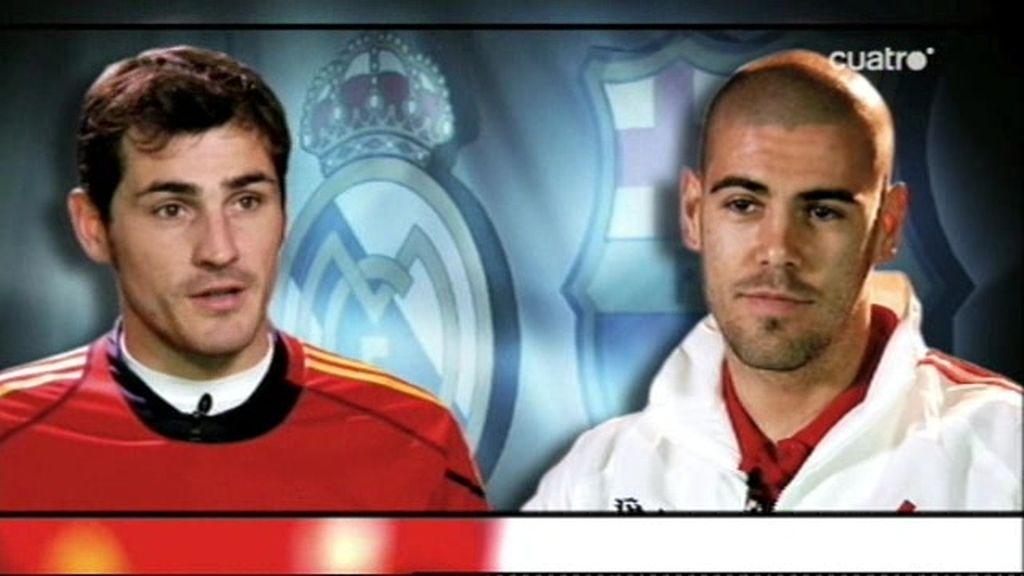 Casillas y Valdés, los dos santos