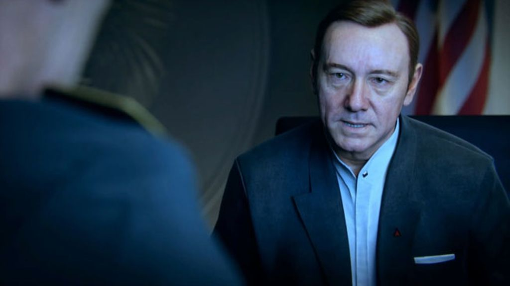 Kevin Spacey, Call of Duty Advanced Warfare, videojuegos