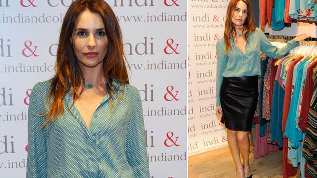 Patricia Vico también viste Indi&Cold
