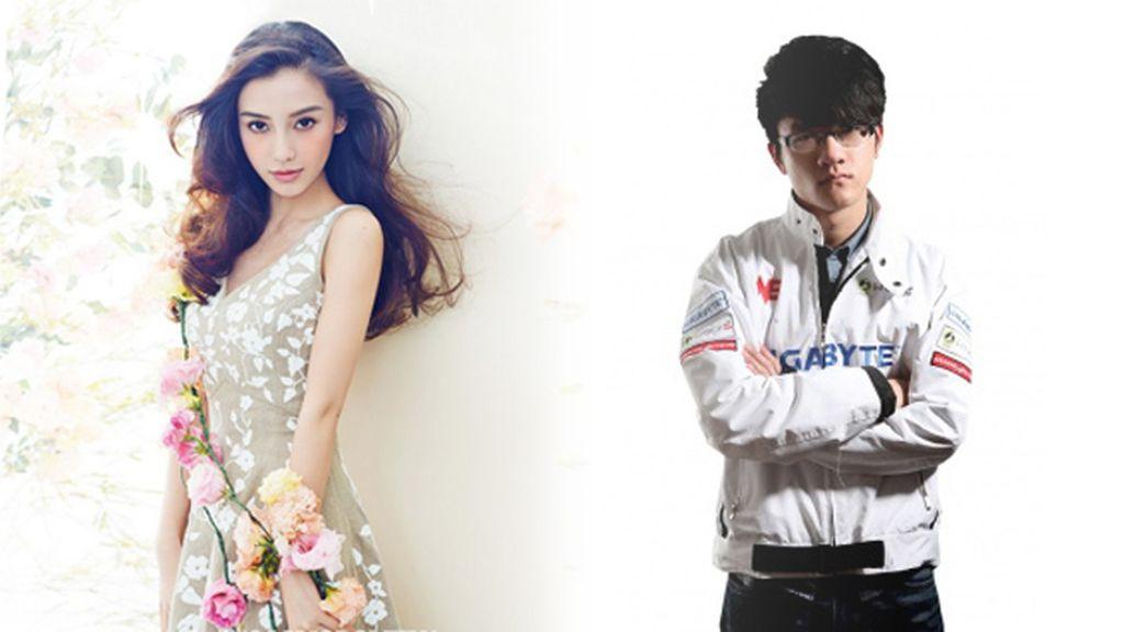 Yu 'Misaya' Jingxi, Angela 'Angelababy' Yeung, vjuegos, modelo