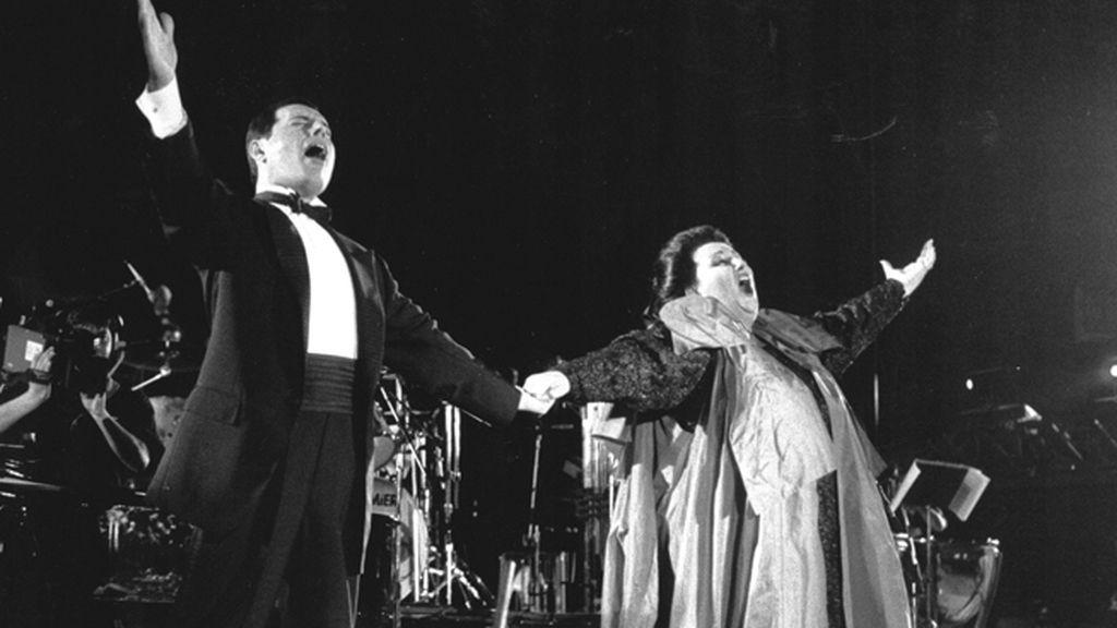 Con Montserrat Caballé, su último gran dueto