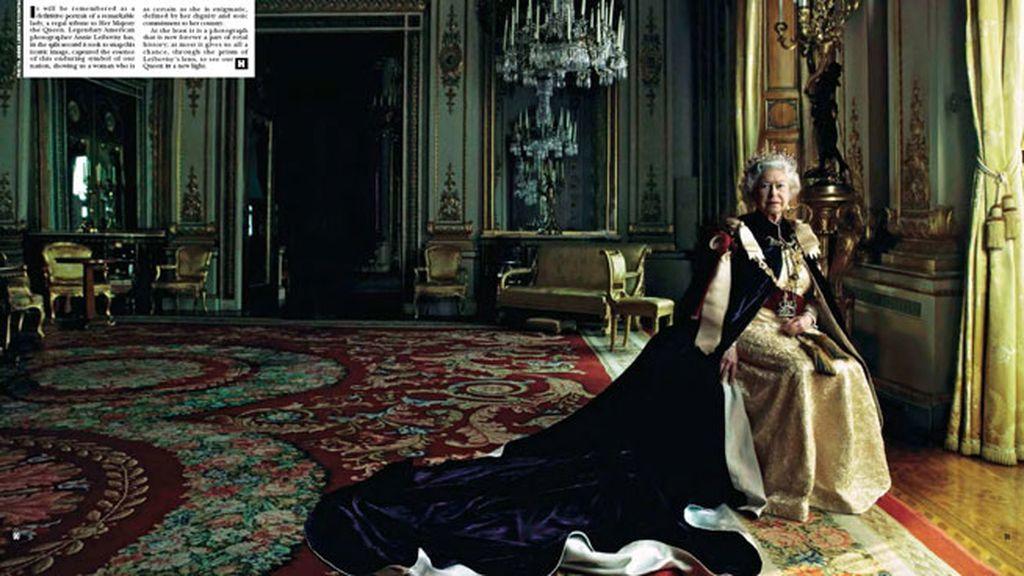 La única fotógrada estadounidense en retratar a Isabel II