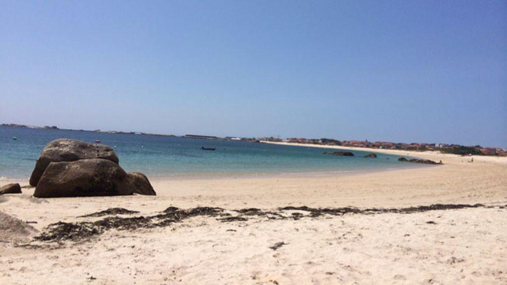 Una relajante playa de Galicia, el 'punto d' de Zoe Blanco