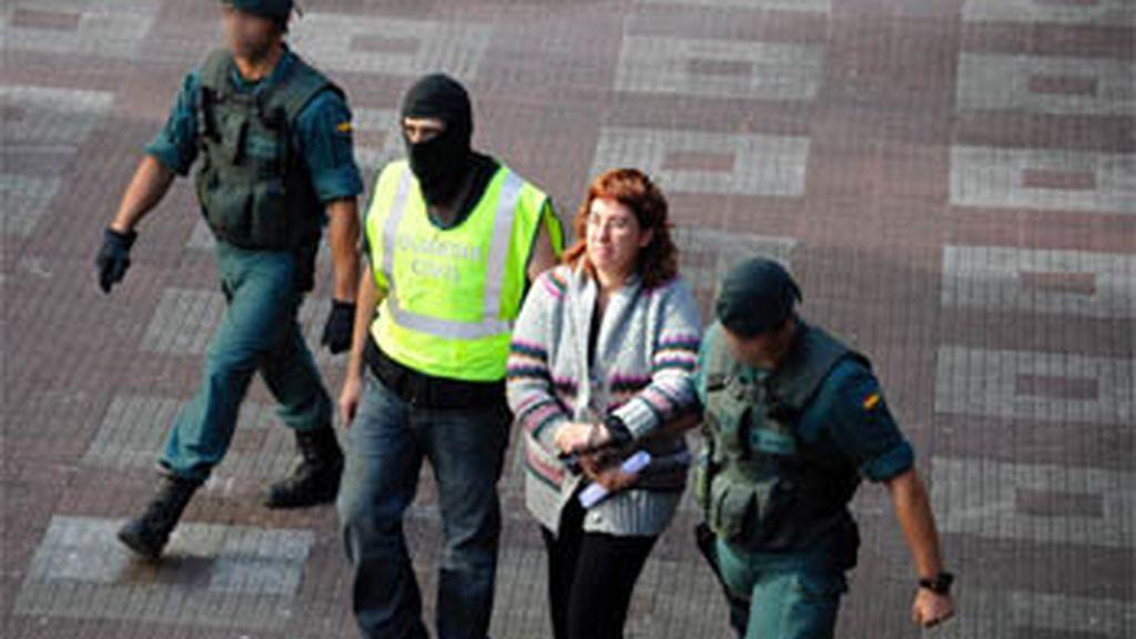 Los detenidos ayudaban a etarras huidos a integrarse en estructuras en Francia