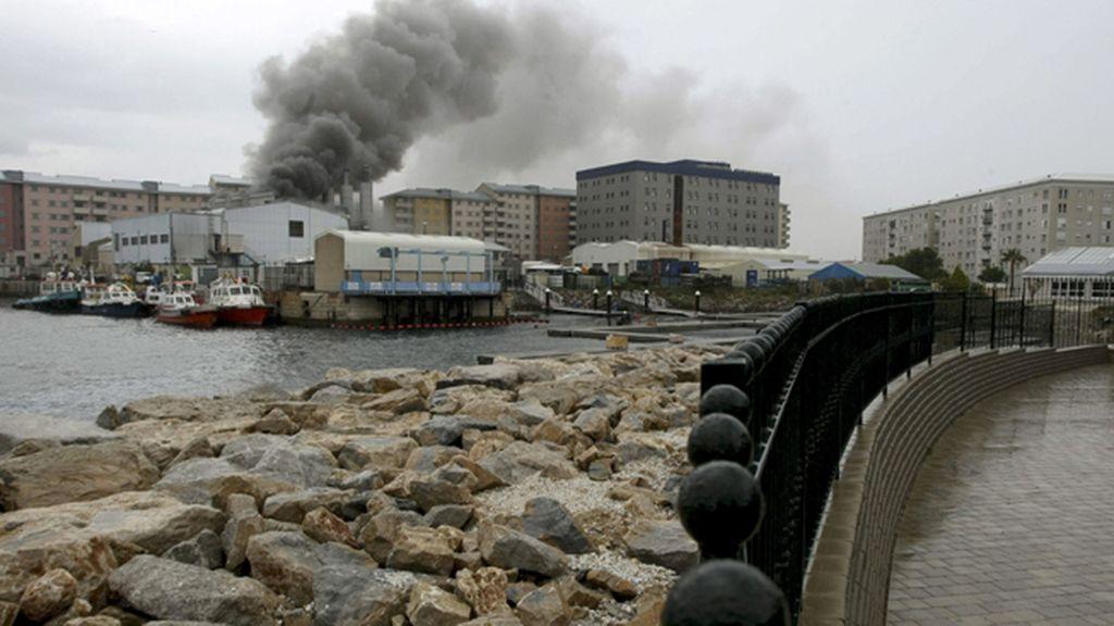 Un incendio en la central eléctrica de Gibraltar deja sin suministro a parte de la colonia