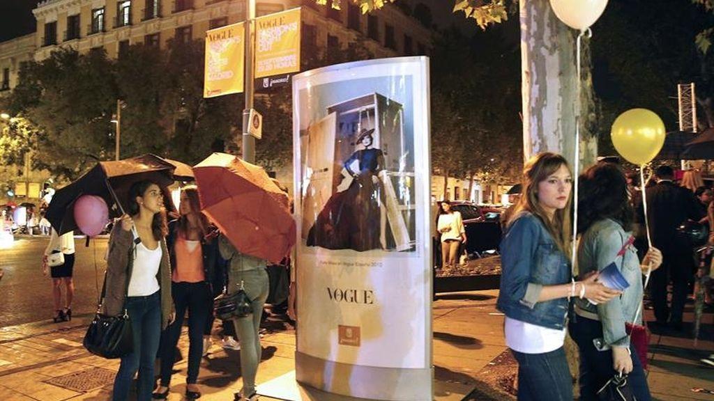 Madrid disfruta su noche más 'fashion'
