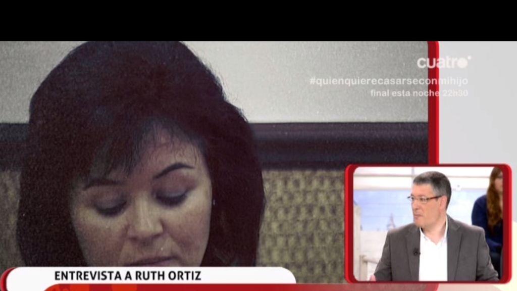 Entrevista, en exclusiva, a Ruth Ortiz
