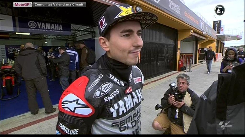 Jorge Lorenzo, feliz por su 2ª Campeonato del Mundo de MotoGP