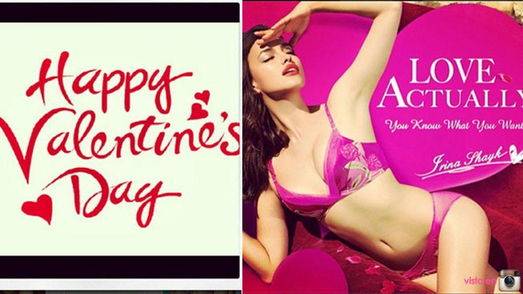 Irina Shayk sexy por San Valentín