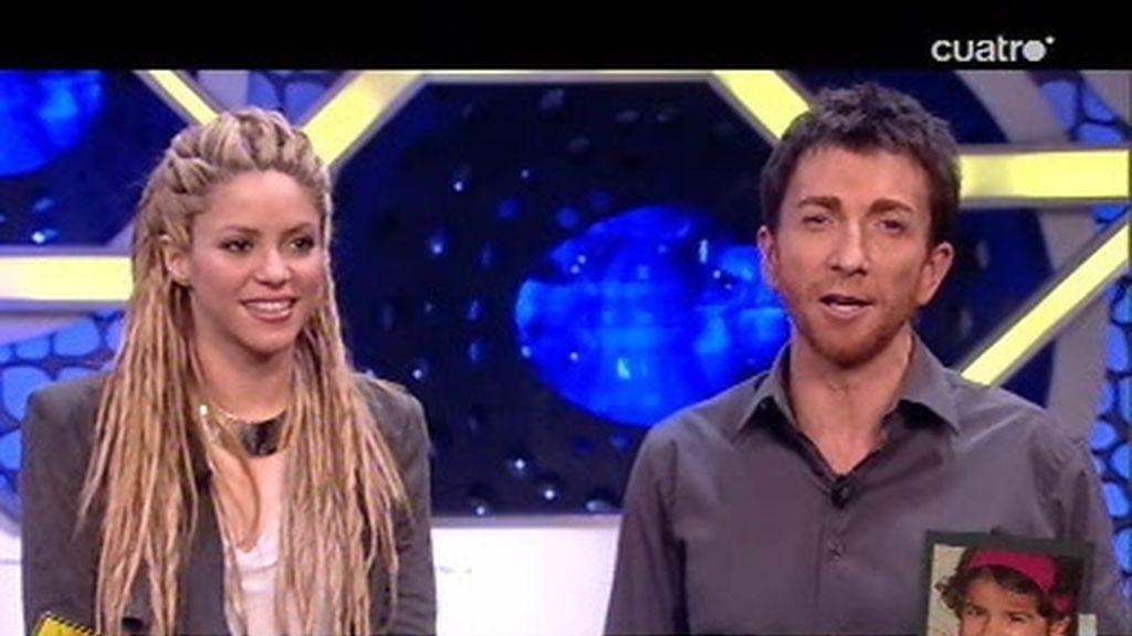 Shakira y Pablo Motos leen las frases de niños