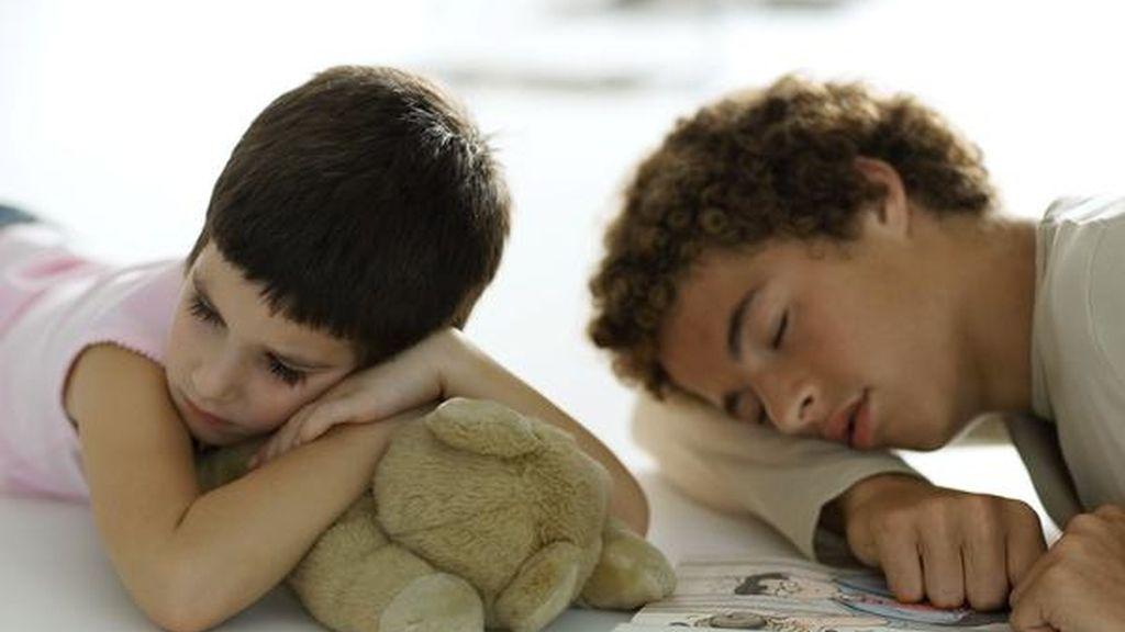 adolescentes durmiendo