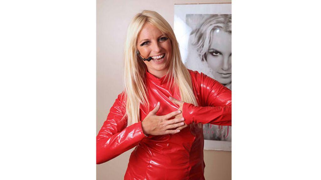 La doble profesional de Britney Spears