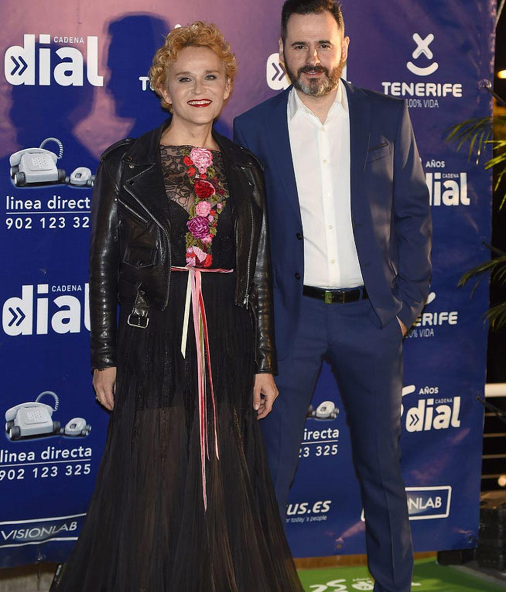 Antonia San Juan y Luis Miguel Seguí fueron los encargados de entregar un premio
