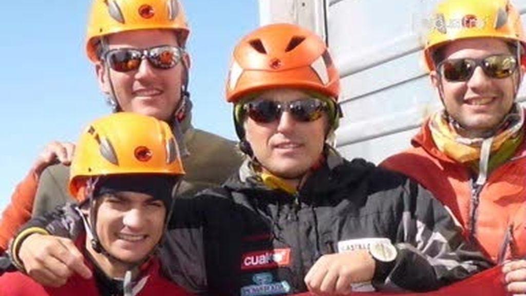 Calleja, Pedrosa, Barberá y Coma coronan el Mont Blanc