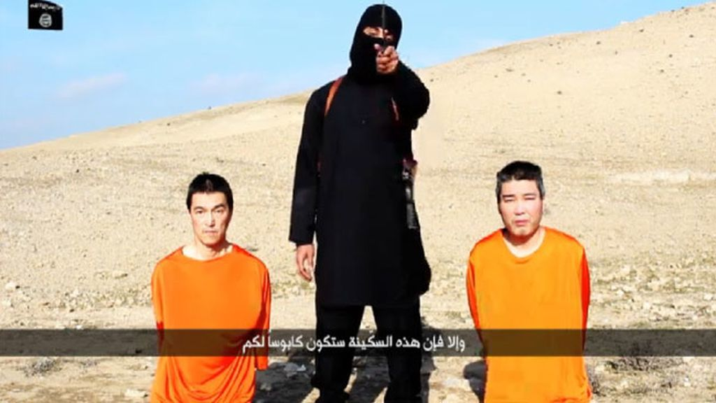 Estado Islámico y los rehenes japoneses