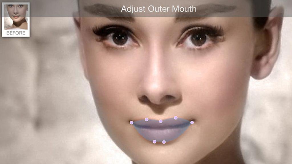 Paso 1: Marcar los labios