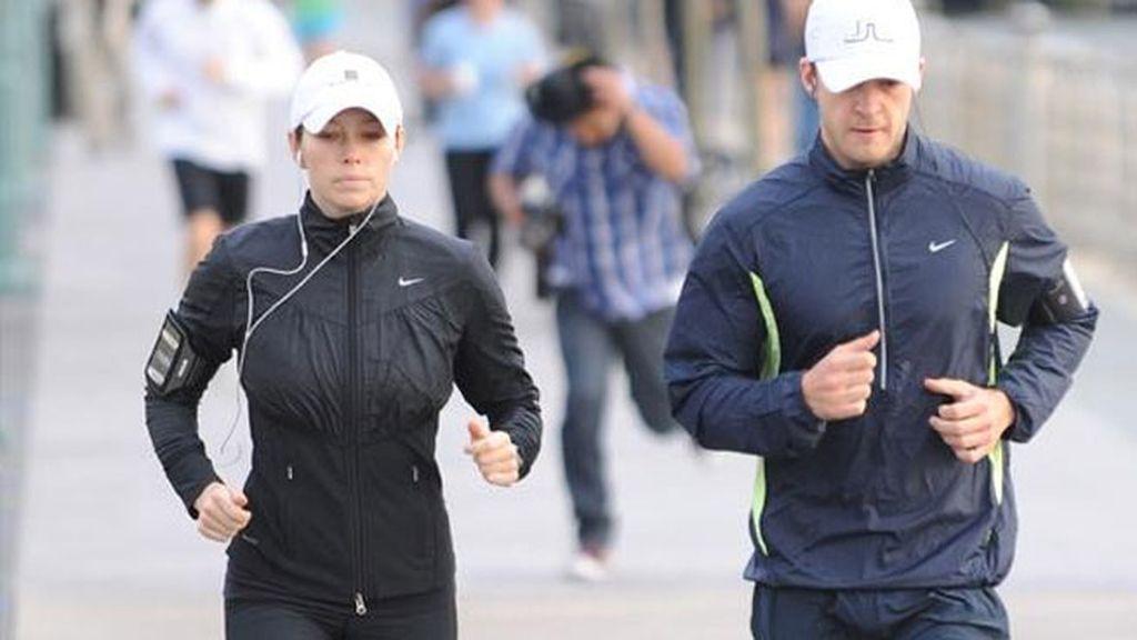Justin Timberlake y Jessica Biel: 'footing' que acabó en boda