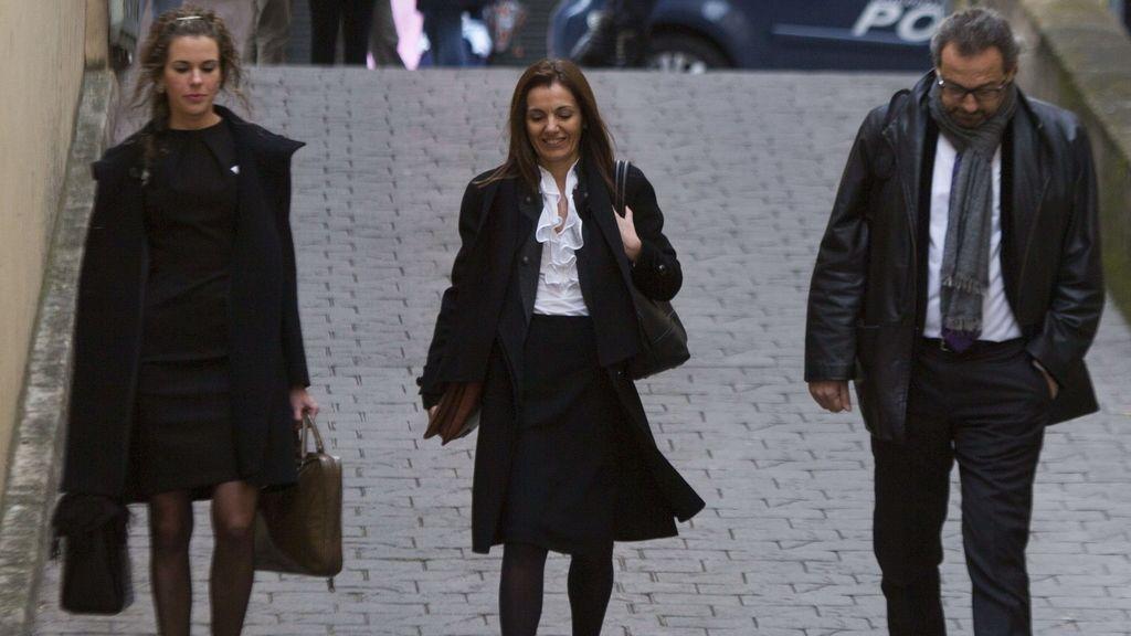 Inspectores llegan al juzgado de Palma