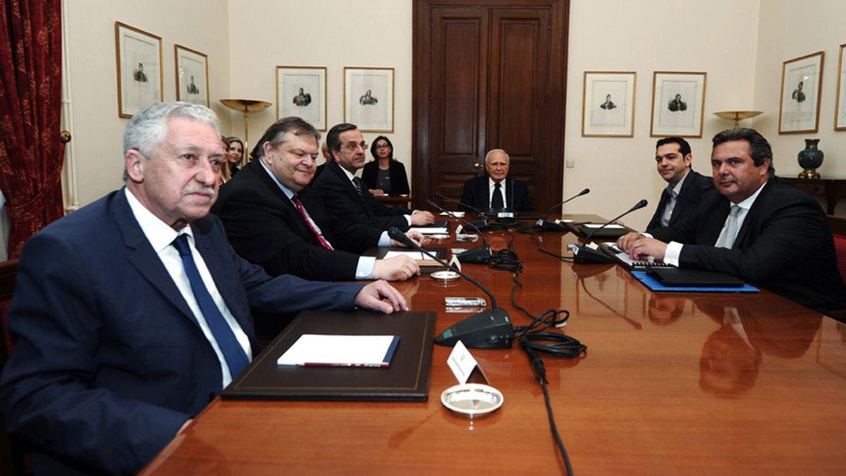 Grecia, partidos políticos, reunión