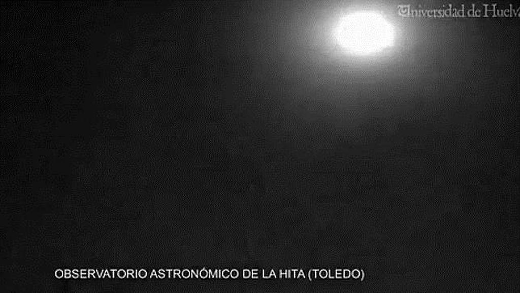 Una bola de fuego, procedente de un asteroide, sobrevuela la provincia de Toledo