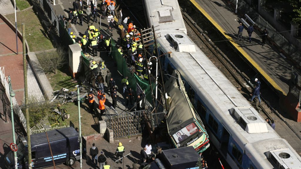 Accidente ferroviario en Argentina el 13 de septiembre de 2011