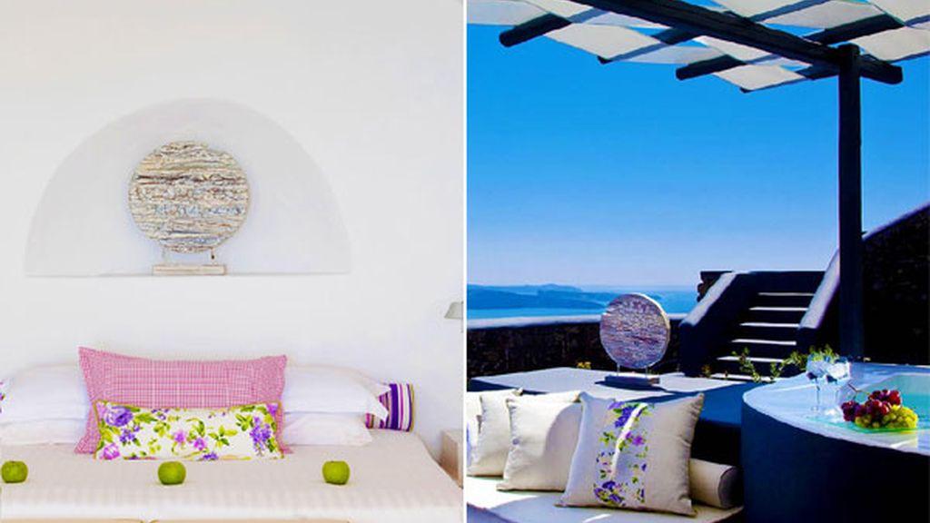 San Antonio Suites. Imerovigli (Santorini, Grecia)