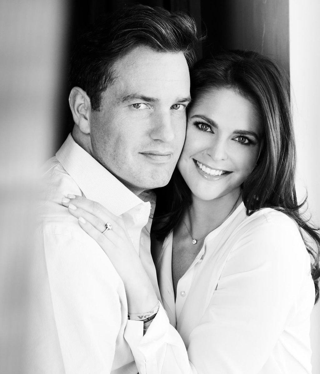 Magdalena de Suecia y Chris O'Neill anuncian su compromiso