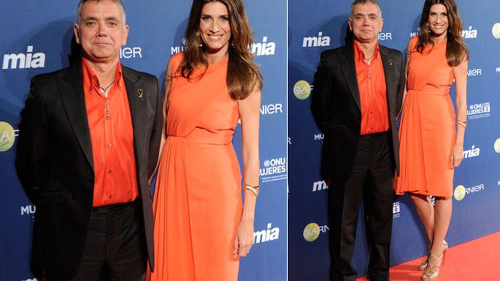 Juan Ramón Lucas y Elia Galera, los presentadores de la gala