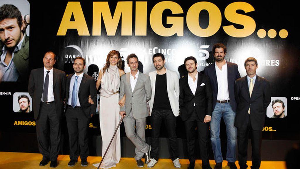 Muchas caras conocidas acudieron al preestreno de la película 'Amigos'