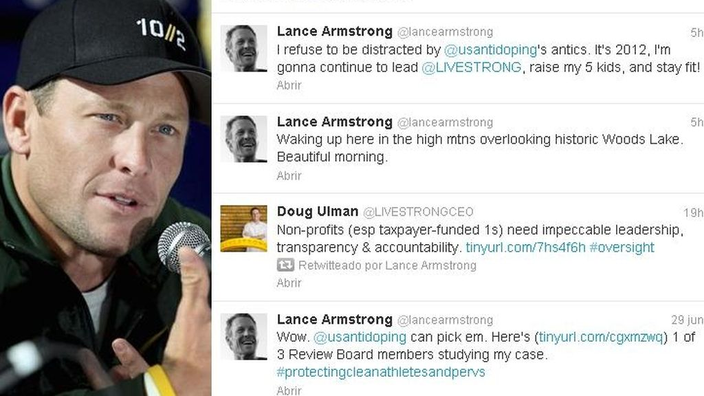 Lance Armstrong Twitter