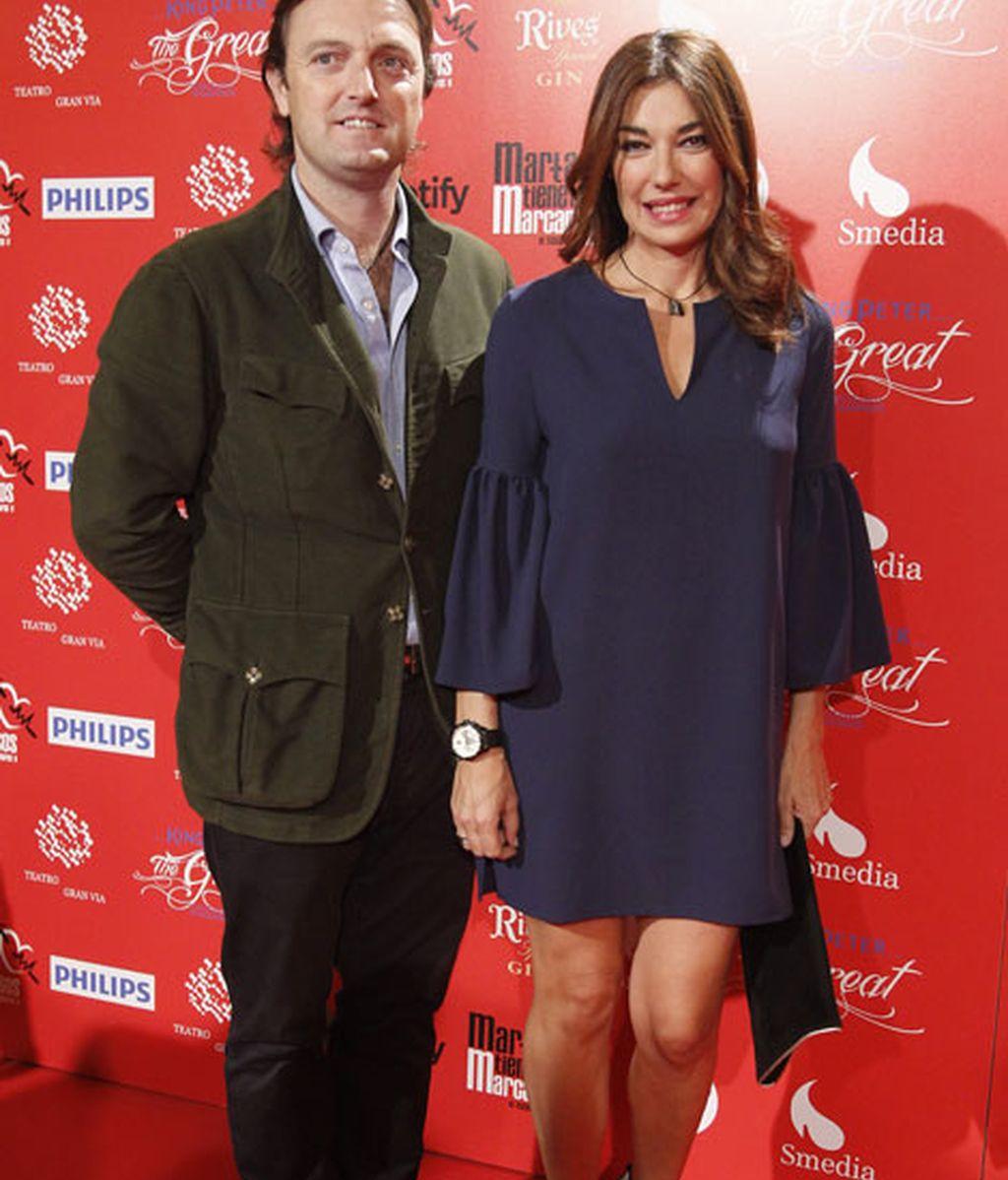 La modelo Raquel Revuelta junto a Raúl Gracia