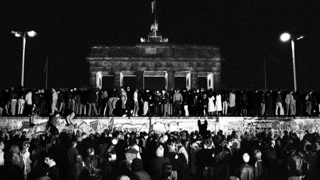 Caída del Muro de Berlín el 9 de noviembre de 1989