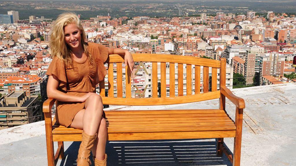 Madrid y su skyline es el lugar escogido por Edurne