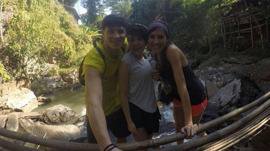 Angy Fernández, navidades con mochila en la selva tailandesa