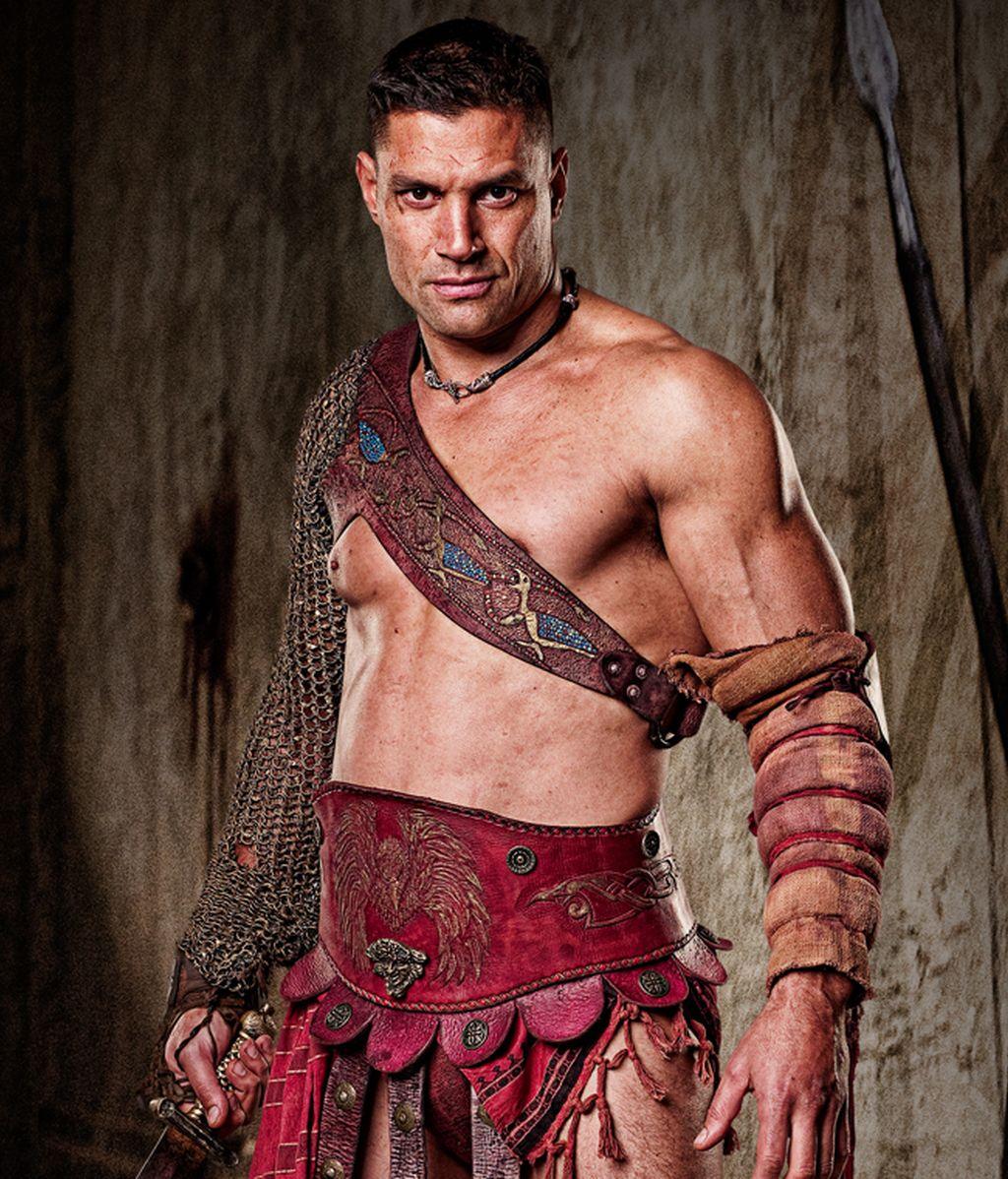 Crixus, los bíceps más fuertes de la Galia