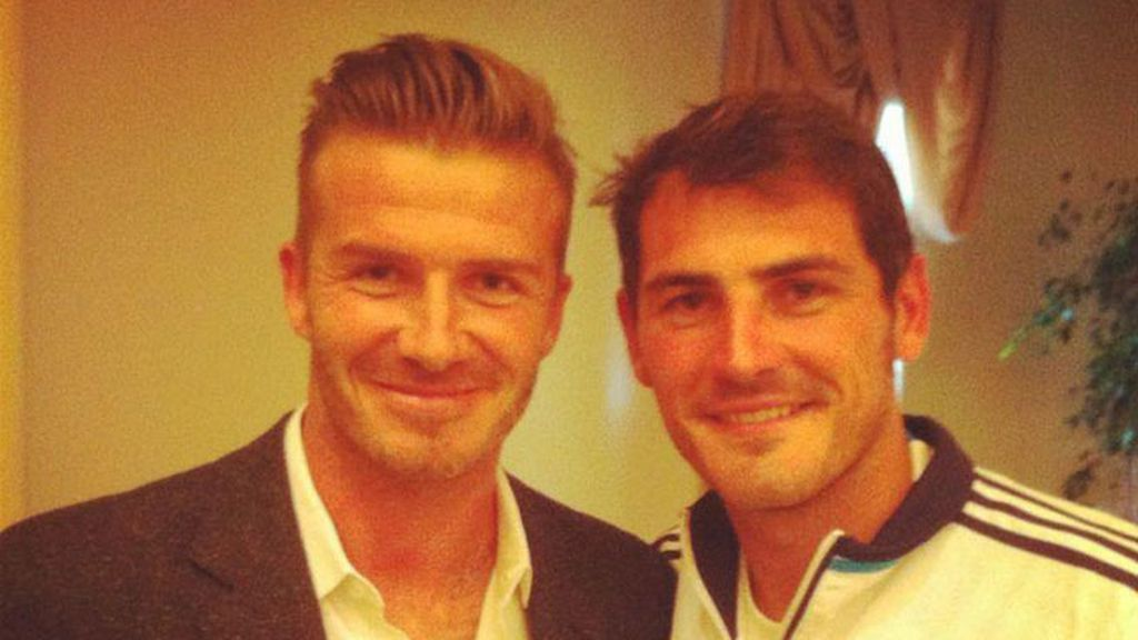 Beckham y Casillas