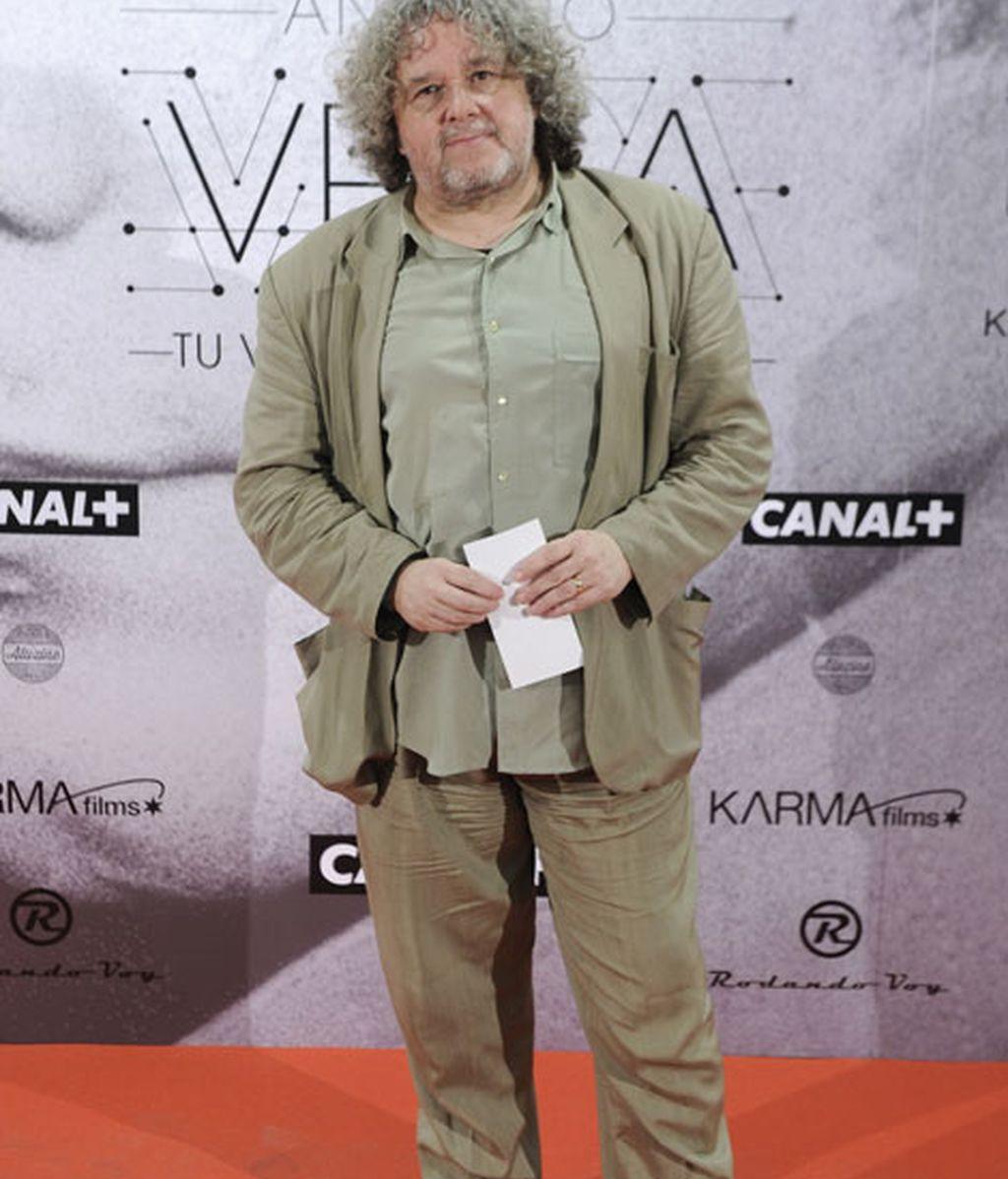 Entre los asistentes, Julio Ruíz, director del programa 'Disco Grande', de Radio 3