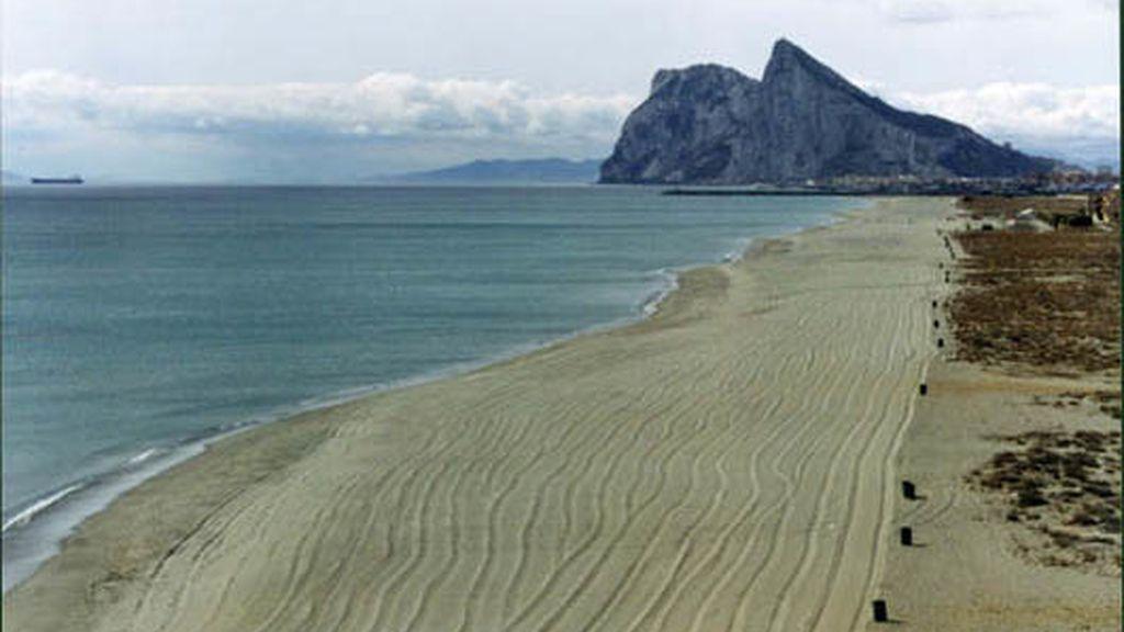 Playa de Levante, en La Línea de la Concepción