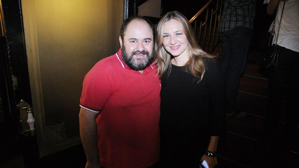 Los actores Jorge Calvo y Pilar Castro