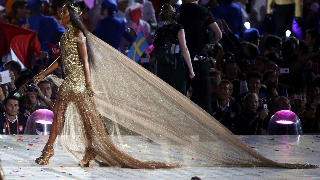 Modelo Naomi Campbell