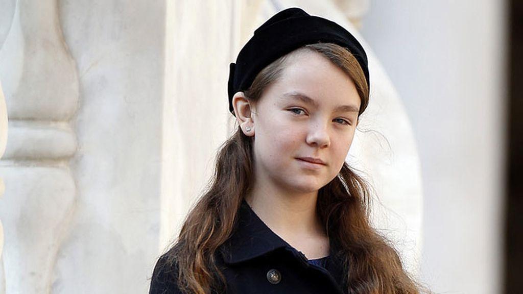 Alexandra de Hannover, la más pequeña de la familia