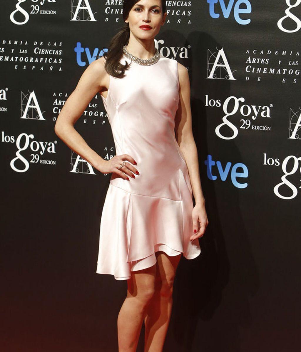 Nerea Barros lució vestido de muselina en rosa candy, de Dior