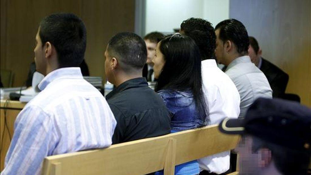Vista del comienzo en la Audiencia Provincial de Madrid del juicio a la conocida como banda de violadores del Parque del Oeste. EFE/Archivo