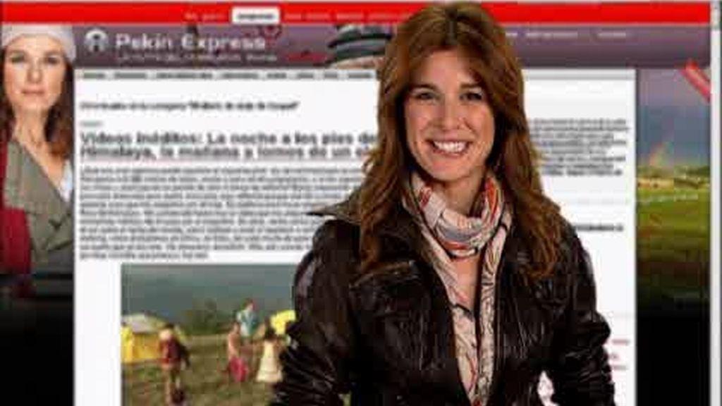 Promo Pekín Express: el blog de Raquel Sánchez Silva
