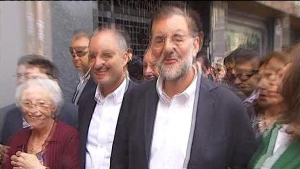 Rajoy y Camps, ¡por fin juntos!