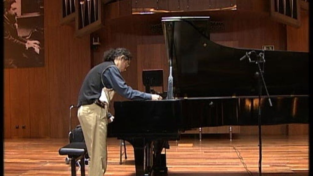 Clase magistral de piano